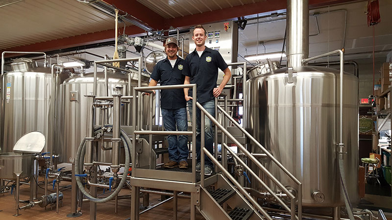 SciTech intern taps lab experience to land brewery internship