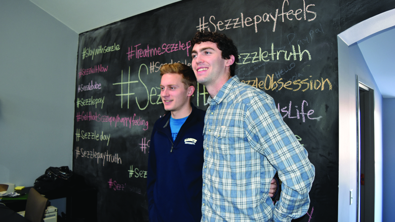 Adding Sizzle to Sezzle: SciTech Programmer Gets Inside Look at FinTech Start-Up
