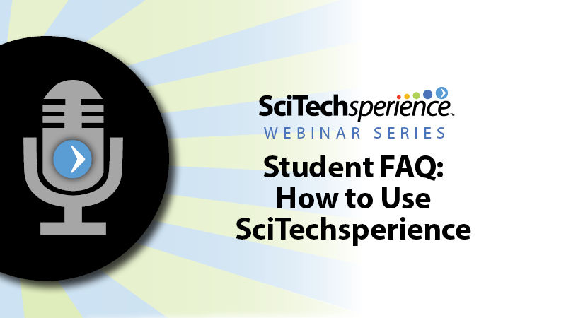 Student FAQ: How to Use SciTech