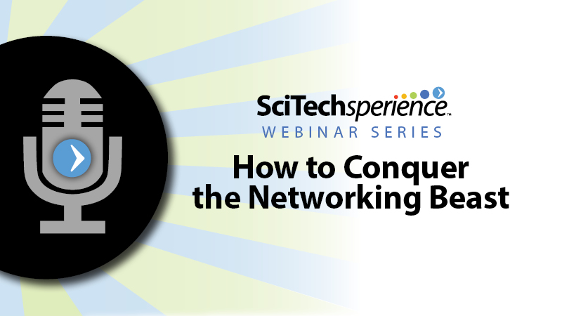 Student Webinar: How to Conquer the Networking Beast