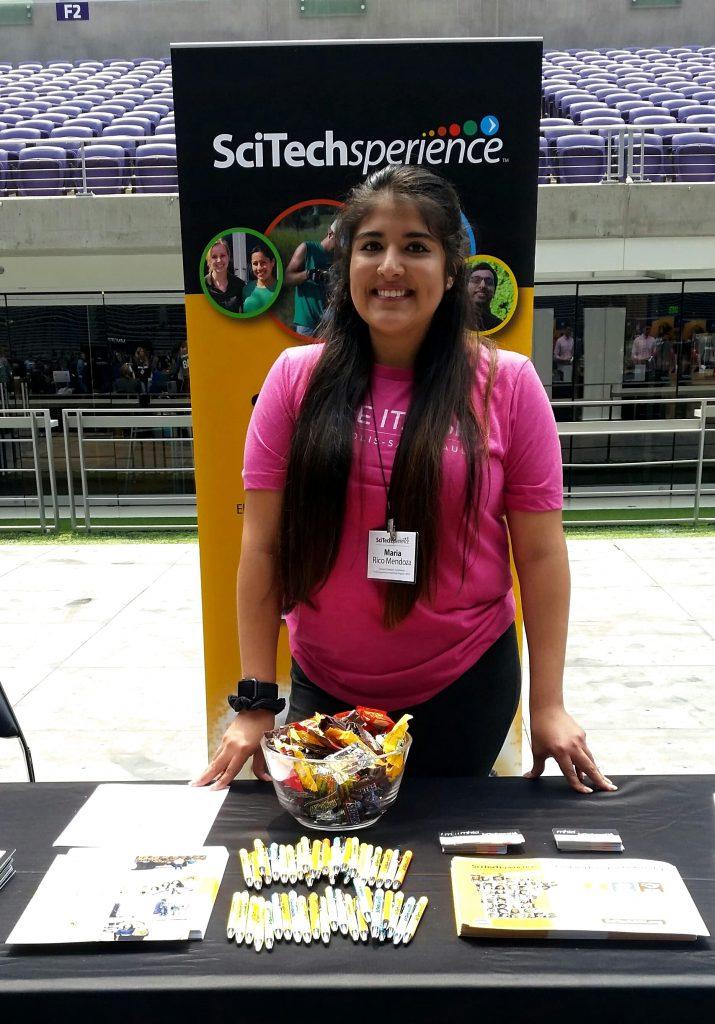 SciTechsperience, SciTech staff, Make It MSP, Minneapolis, Minnesota, Intern event
