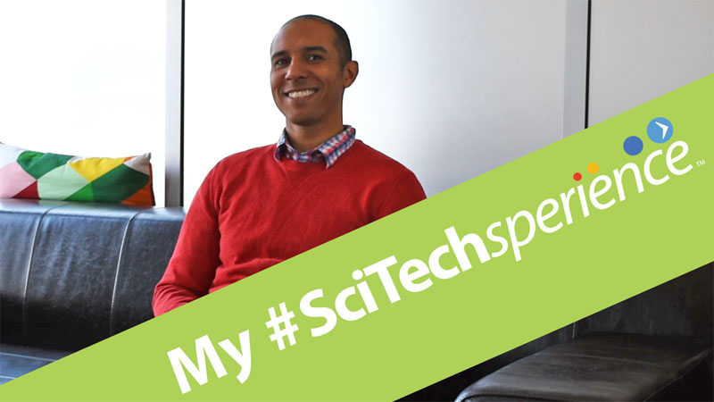 My #SciTechsperience with Employer Eddie Glenn