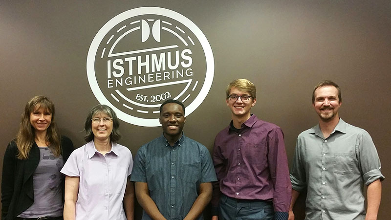Internship Spotlight: Isthmus Engineering, Inc., St. Paul