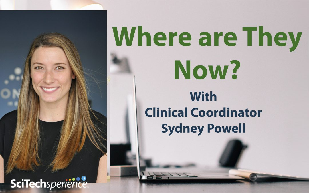 Where are They Now? With Clinical Coordinator Sydney Powell