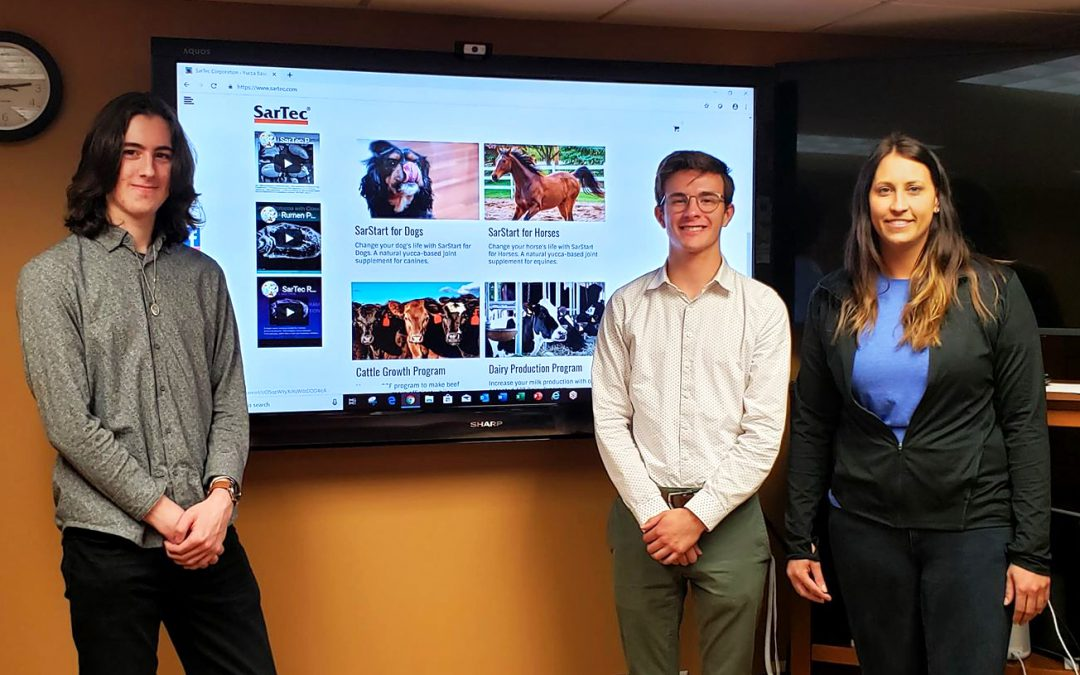 Interns Absorb Industry Skills Through Web Development