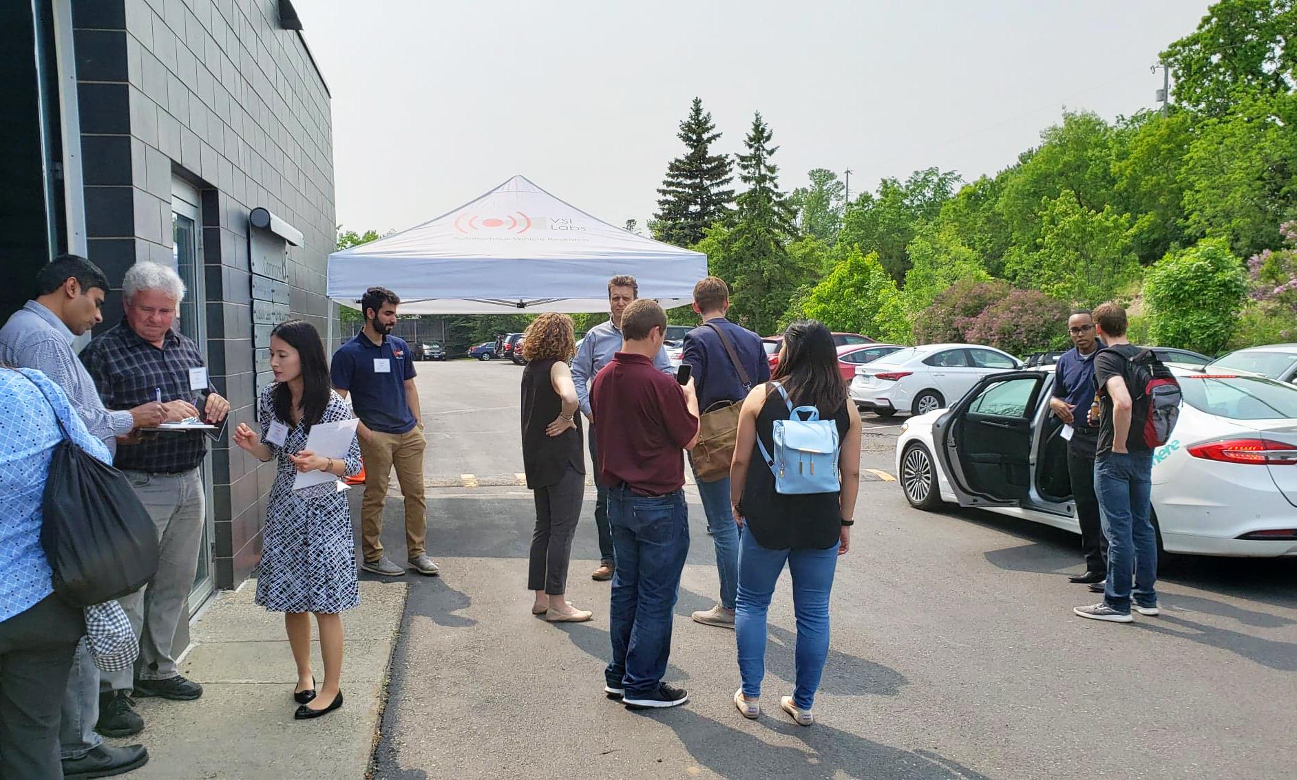 SciTech, SciTechsperience, VSI Labs, autonomous vehicle technology, autonomous car, self-driving car, road trip