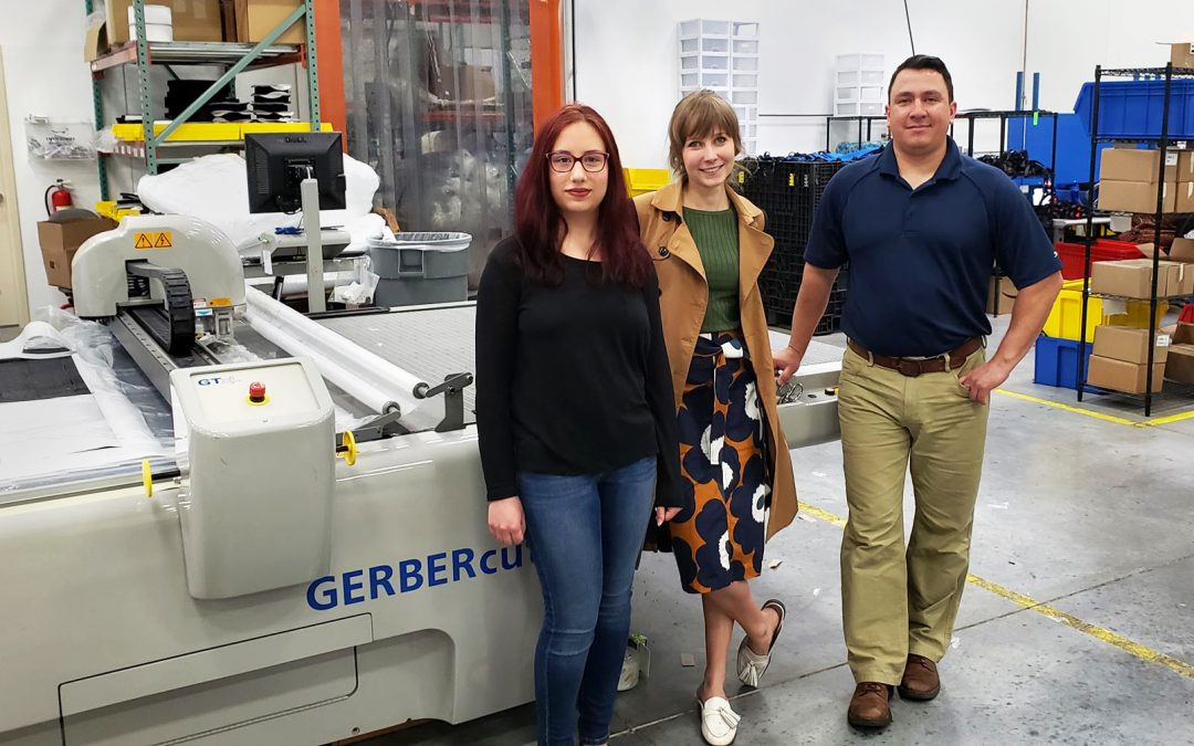 Interns Reap What They Sew with Red Fox Innovations