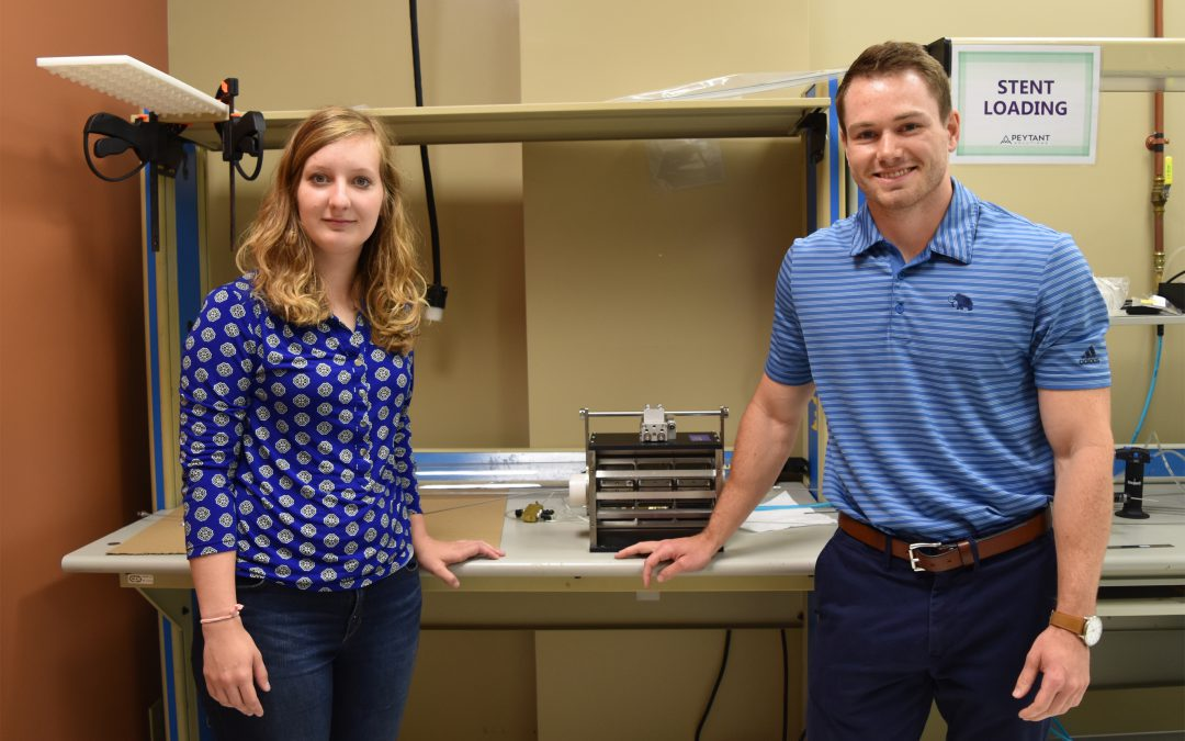 Biomedical Internship Creates Openings for Opportunity