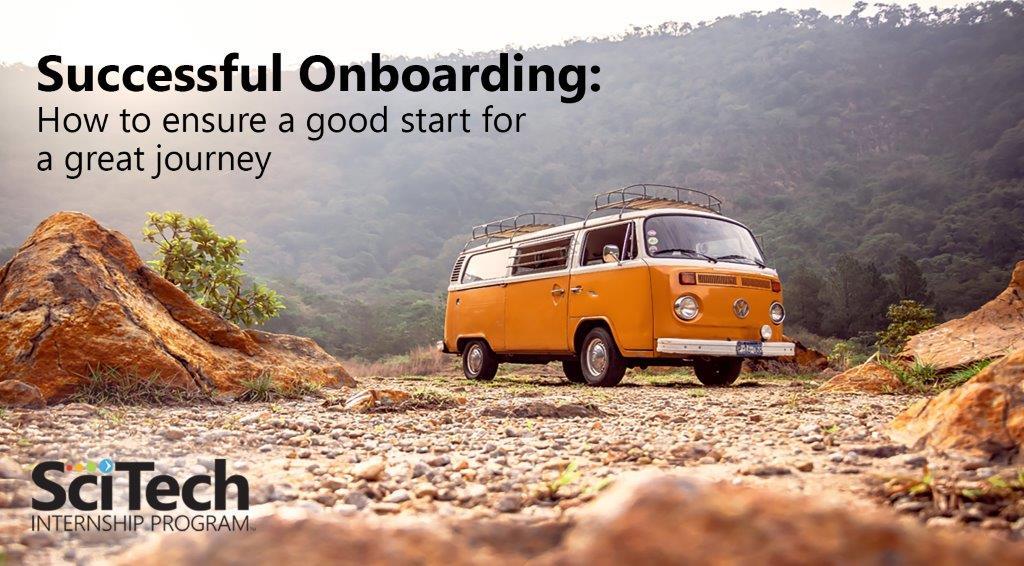 employer webinar, successful onboarding, working remote, HR, internship, interns
