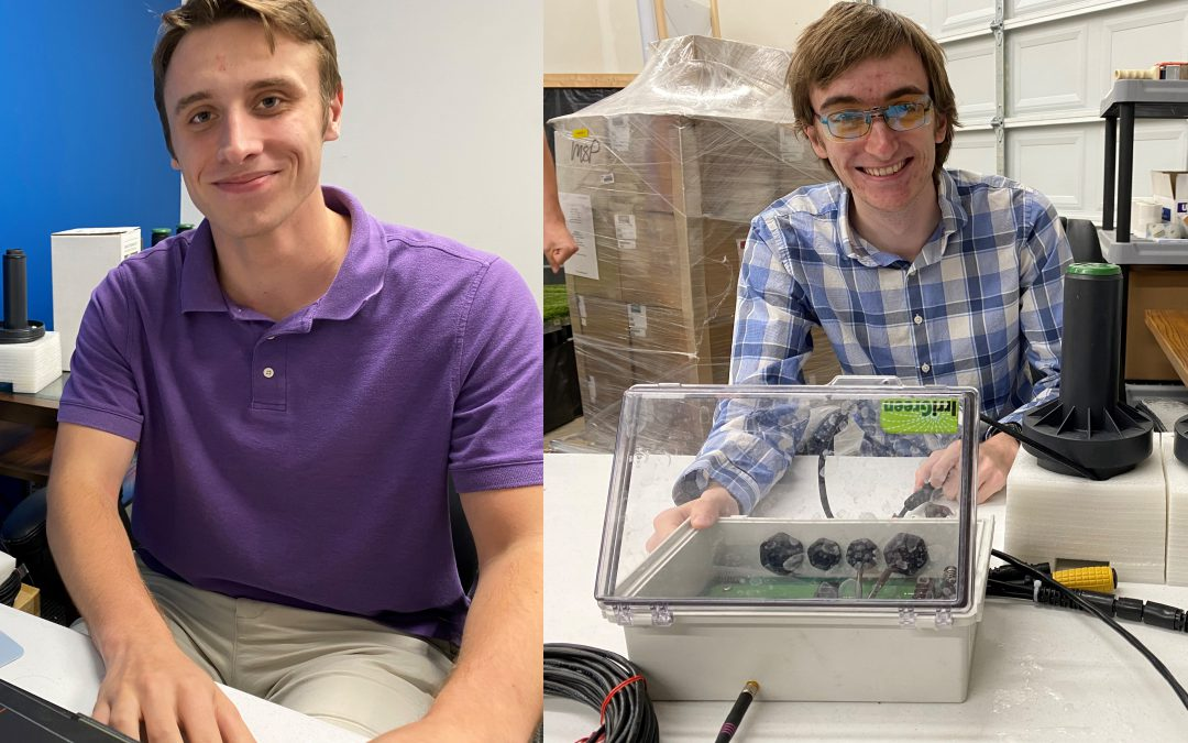 Interns Spearhead Testing Department at Irrigreen Inc.