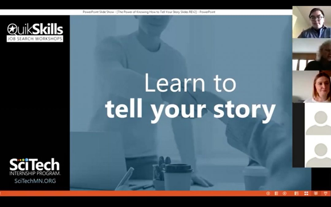 QuikSkills Workshop: The Power of Knowing How to Tell Your Story