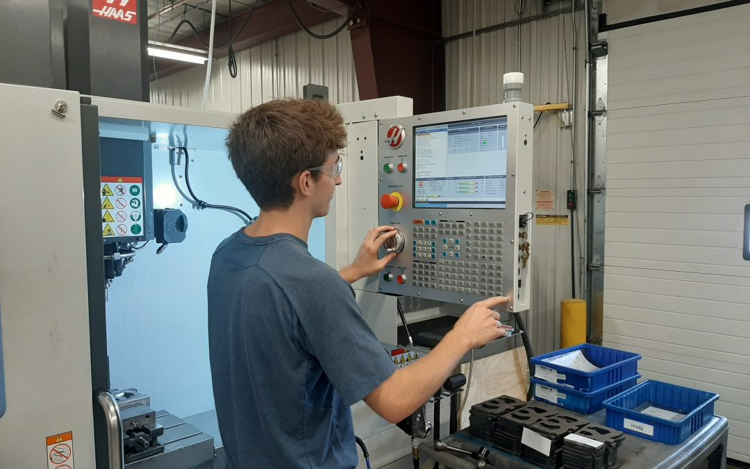 The Future of Machining: An Internship with 3-D CNC