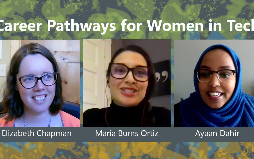 SciTech, MnTech, Minnesota Technology Association, Webinar, Career Pathways for Women, Women in Tech, Minnesota
