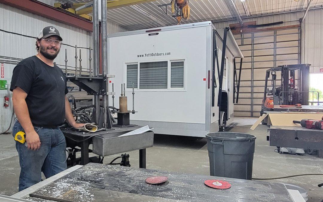 Intern Helps Improve Welding Efficiency at Voyager Industries