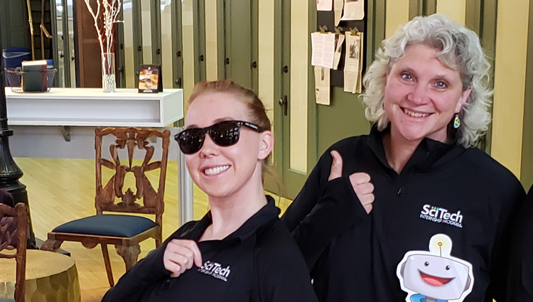 SciTech Team, Piper and Becky